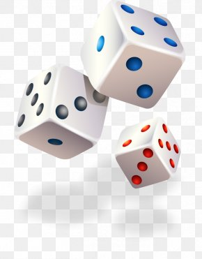 Painted White Dice Pattern - Applied Quantitative Finance 3D Computer Graphics Icon PNG