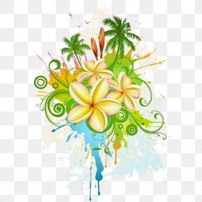 Tropical Elements PNG