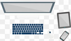 Vector Hand-drawn Computer - MacBook Pro Computer Keyboard MacBook Air Laptop PNG