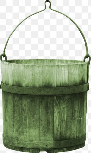 Green Bucket - Bucket Barrel PNG