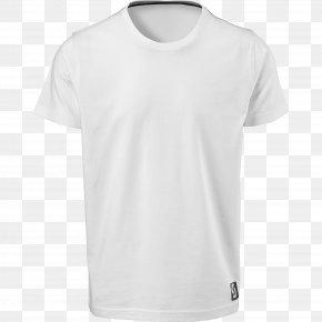 White T-Shirt Image - T-shirt Collar Sleeve PNG