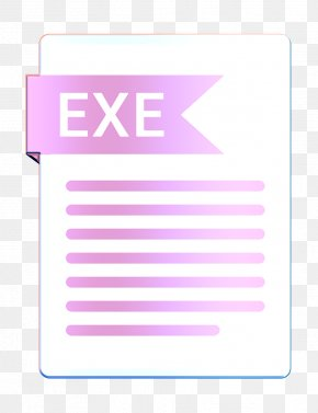 Label Rectangle - Document Icon Exe Icon Extension Icon PNG
