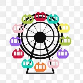 Wheel - Ferris Wheel Clip Art PNG