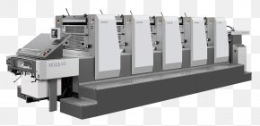 Printer - Offset Printing Lithography Printing Press Paper PNG