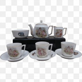 Teapot - Tableware Saucer Coffee Cup Teapot PNG