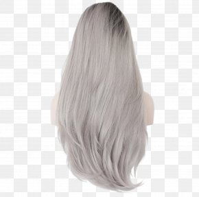 Lace Wig - Lace Wig Synthetic Fiber Hair PNG