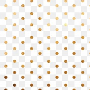 Gold Dots Background - Point Circle Polka Dot PNG