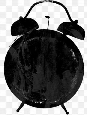 Black Pretty Creative Alarm Clock - Alarm Clock Table PNG