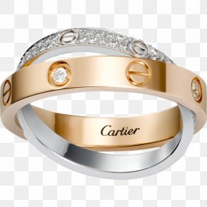 Ring - Engagement Ring Love Bracelet Cartier Diamond PNG