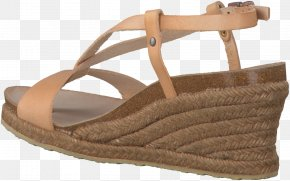 Sandal - Sandal Footwear Shoe Tan Slide PNG