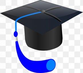 Blue Cap Cliparts - Graduation Ceremony Clip Art PNG