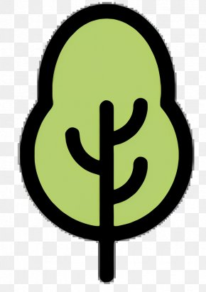 Plant Sign - Background Green PNG