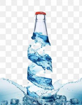 Creative Bottle - Bottled Water Purified Water Water Bottle PNG