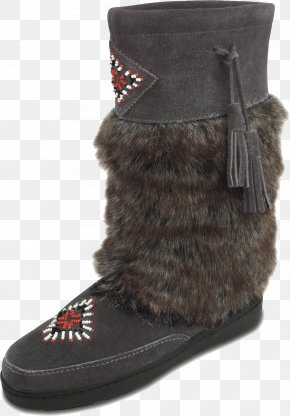 Rubber Shoes For Women Fur Lined - Snow Boot Suede Shoe Fur PNG