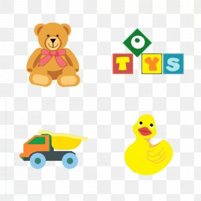 Cute Child Toy Bear Stock Image - Duck Child Toy Clip Art PNG