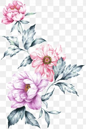Design - Floral Design Watercolor Painting Flower PNG
