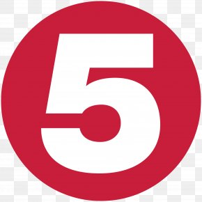 Number 5 - Channel 5 Logo Television Network Television Channel Broadcasting PNG