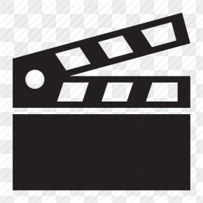 Icon Image Free Action - Film Director Clapperboard PNG