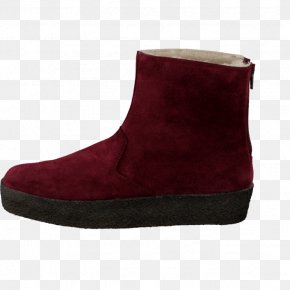 QVC Clarks Shoes For Women - Snow Boot Suede Shoe Maroon PNG