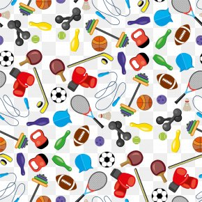 Sports Icon Collection Background - Stock Illustration Icon PNG