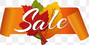 Vector Autumn Discount Sale PNG