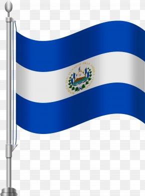 Norwegian Flag Cartoon Clip Art - Flag Of El Salvador Clip Art PNG