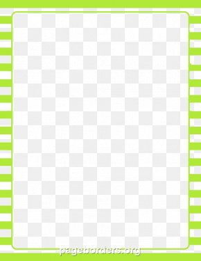 Lime Border Frame Photo - Line Point Angle Material PNG