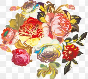 Floral Design - Flower Bouquet Floral Design Clip Art PNG
