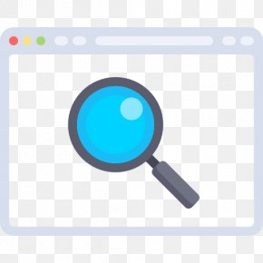 A Gray Magnifying Glass - Magnifying Glass Download PNG