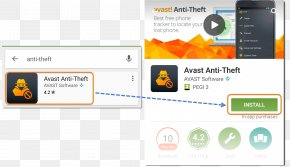 Android - Computer Program Android Avast Antivirus Handheld Devices PNG