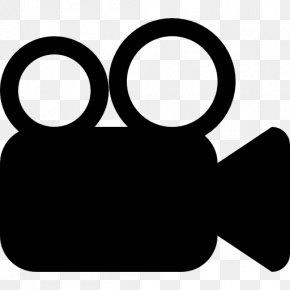 Blackandwhite Video Cameras - Movie Logo PNG