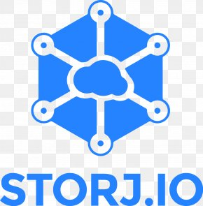 Net - STORJ Blockchain Cryptocurrency Initial Coin Offering Cloud Storage PNG