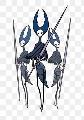 Insect Vector - Hollow Knight Video Game Character Drawing Model Sheet PNG