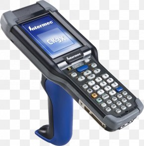 Hand-held Mobile Phone - Handheld Devices Computer Barcode Scanners Image Scanner Intermec PNG