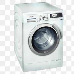 Washing Machines Clothes Dryer Laundry Home Appliance Combo Washer Dryer PNG