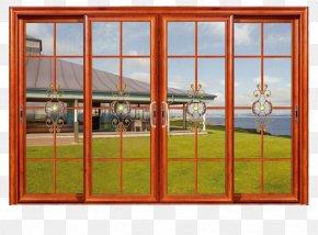 Classic Color Sliding Door - Window Sliding Door Aluminium Alloy Glass PNG