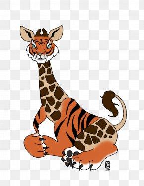 Giraffe - Tiger Cat Northern Giraffe Leopard Animal PNG