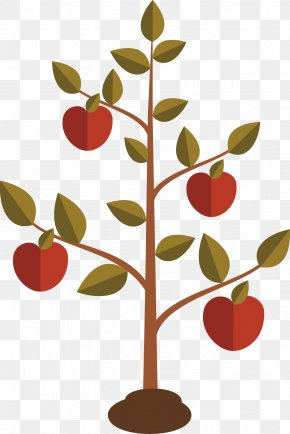 Flat Design Of Apple Tree - Books Of Samuel Chapters And Verses Of The Bible New International Version 2 Samuel 7 PNG