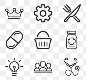 Various Icons - Vector Graphics Clip Art Icon Design Illustration PNG