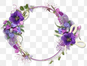 Flower - Clip Art Borders And Frames Flower Bouquet PNG