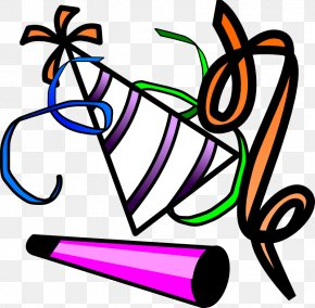 Party Time Cliparts - Party Horn Free Content Clip Art PNG