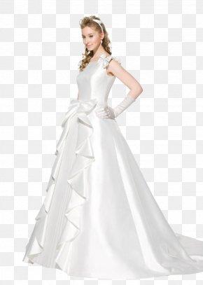 Wedding Dress - The Dress Contemporary Western Wedding Dress PNG