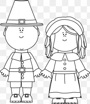 Pilgrim Boy Cliparts - Pilgrims Thanksgiving Clip Art PNG