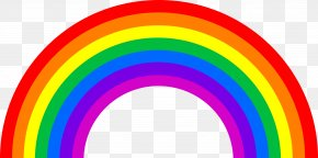 Rainbow Image - Rainbow Color Red Orange PNG