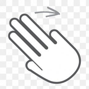 Gestures - Finger Around The World Hand Swipe! Gesture PNG