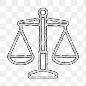 Coloring Book Balance - Justice Icon Libra Icon Law Icon PNG