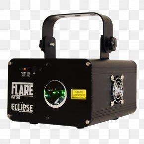 Spotlight Laser Light - Light Laser Yellow Red Solar Eclipse PNG