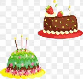 Birthday Cake Cartoon Yellow Brown - Birthday Cake Cupcake Wedding Cake Clip Art PNG