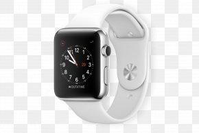 Apple White Smart Watch - Apple Watch Series 2 Apple Watch Series 3 Pebble PNG