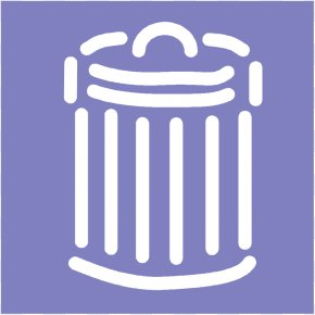 Trash Can Picture - Rubbish Bins & Waste Paper Baskets Recycling Clip Art PNG